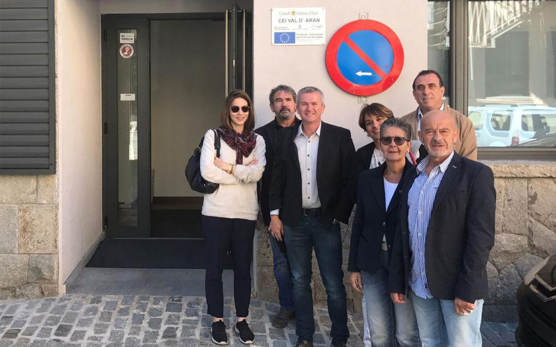 Visita deth Relais de Entreprises en CEI Val d'Aran