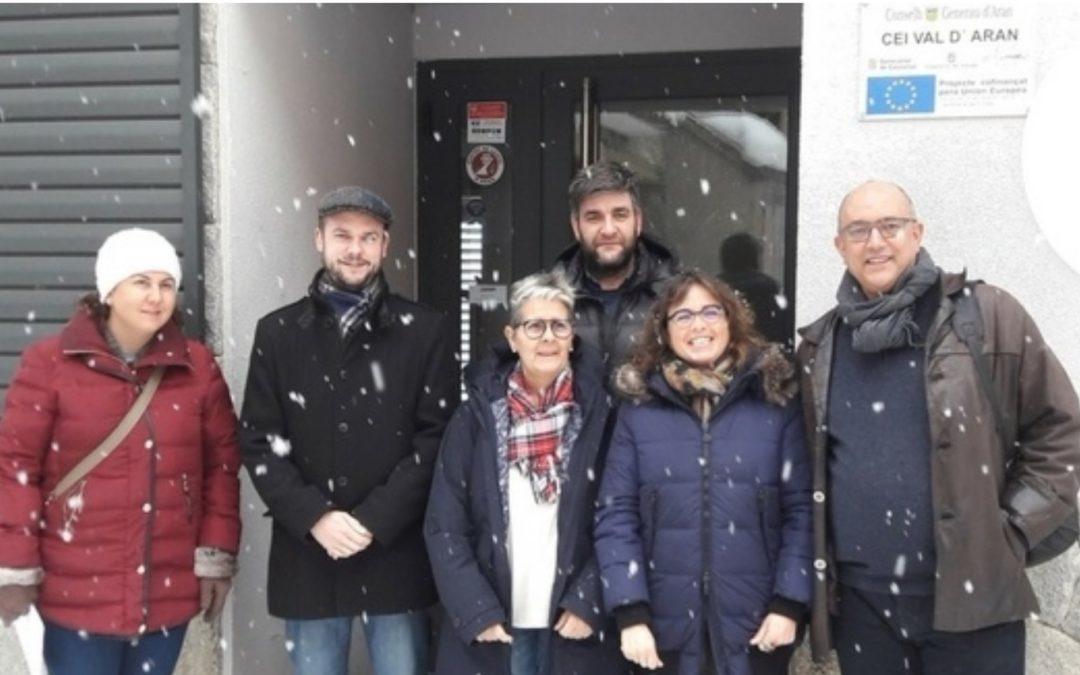 Comission de seguiment deth CEI Val d'Aran e CEEI Lhèida