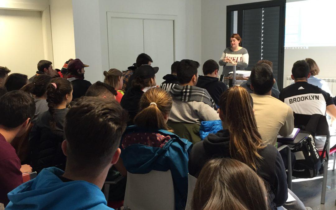 Orientación profesional para estudiantes en el CEI Val d'Aran