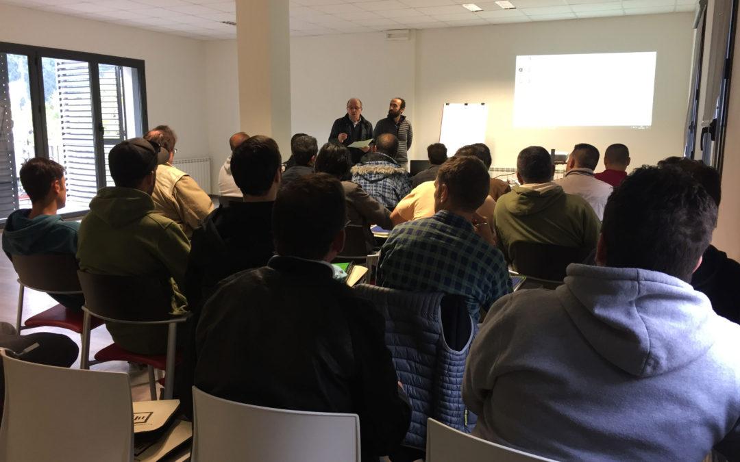 Curso de Prevención de Riesgos Laborales en la construcción en el CEI Val d'Aran