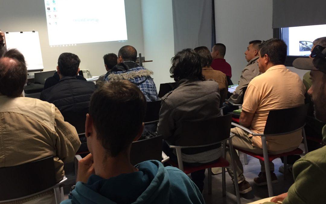 Curso sobre gestión de impuestos en el CEI Val d'Aran, Casau